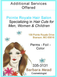 PR hair salon ad